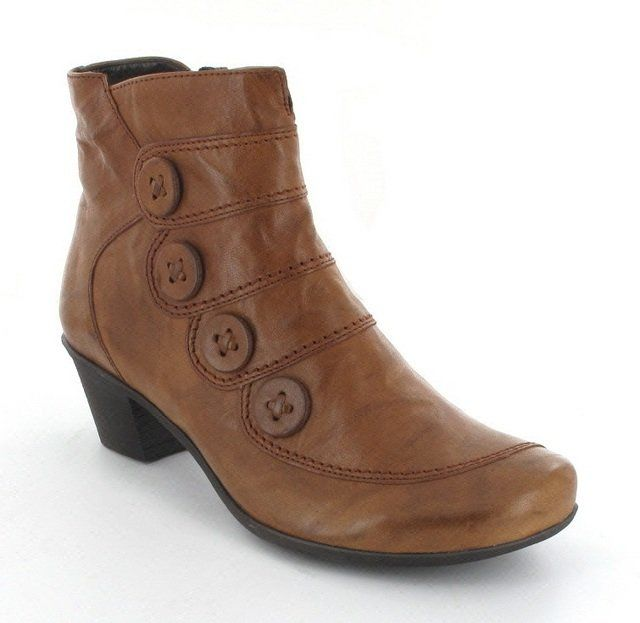 Gabor Kresta 42 94.691.54 Tan ankle boots