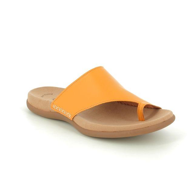 Gabor Lanzarote 43.700.23 Yellow Toe Post Sandals