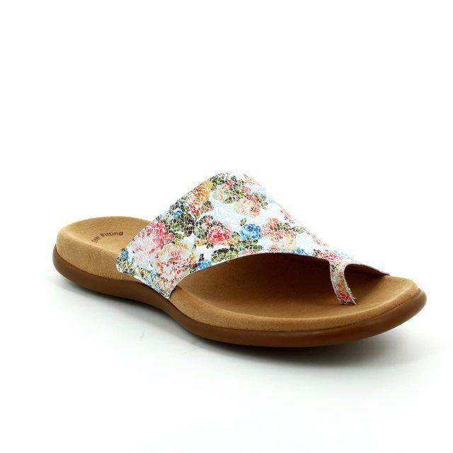 Gabor Lanzarote 63.700.41 Floral print sandals