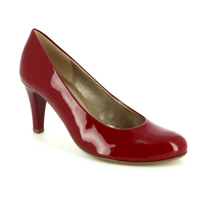 Gabor Lavender 55.210.75 Red patent heeled shoes