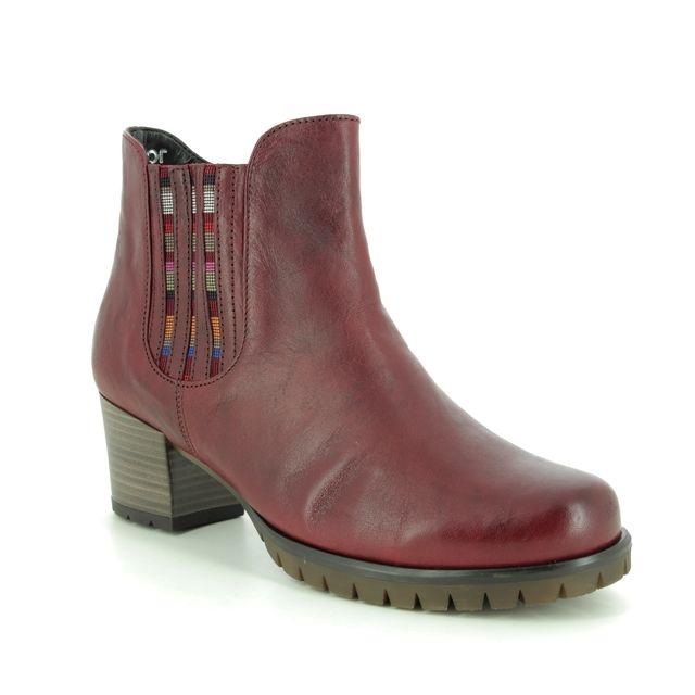 Gabor Ankle Boots - Dark Red - 36.654.18 MERMAID