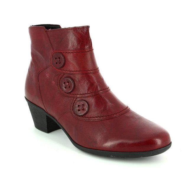 Gabor Ankle Boots - Dark Red - 74.695.55 OPRAH