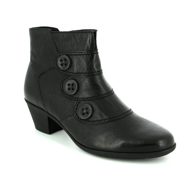 Gabor Ankle Boots - Black - 74.695.57 OPRAH