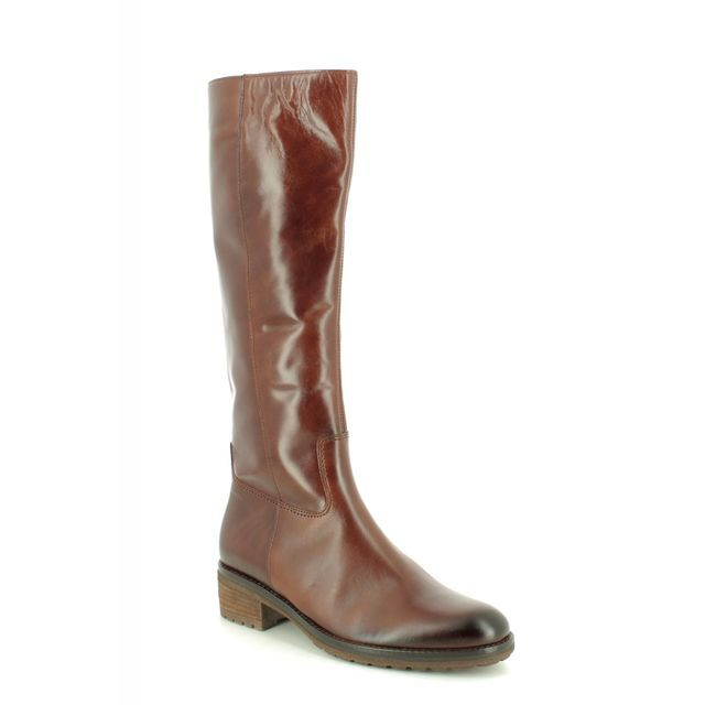 Gabor Knee-high Boots - Tan Leather - 31.615.20 PALMER 95