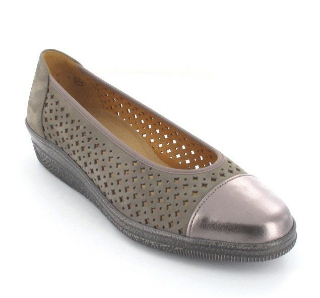 Gabor Petuperf 86.401.31 Pewter comfort shoes