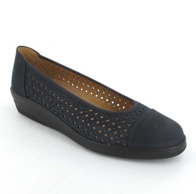 Gabor Petuperf 86.401.46 Navy nubuck comfort shoes