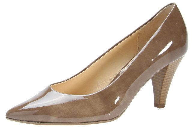 Gabor High-heeled Shoes - Nude Patent - 71.280.72 POINTER