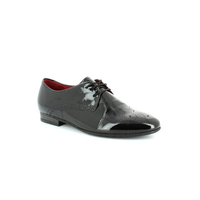 Gabor Principle 32.675.87 Black patent loafers