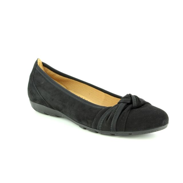 Gabor Pumps - Black suede - 94.162.17 ROSALIE