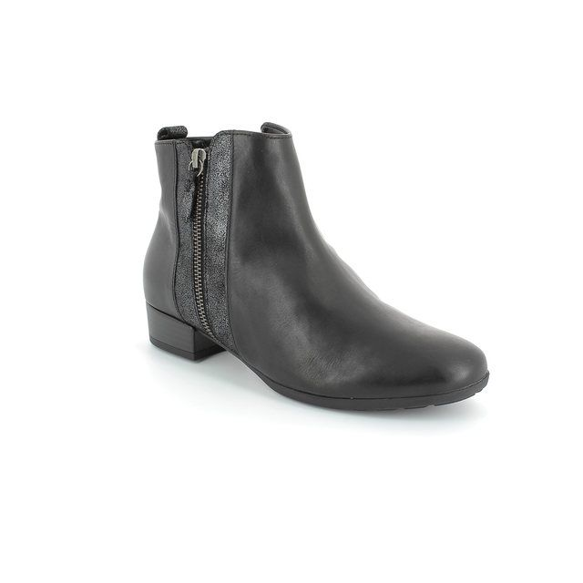 Gabor Rundle 32.713.57 Black ankle boots