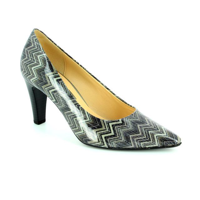 Gabor High-heeled Shoes - Grey - 51.280.99 SARIKA