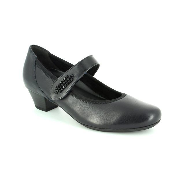 Gabor Sentrope 52.149.86 Navy heeled shoes