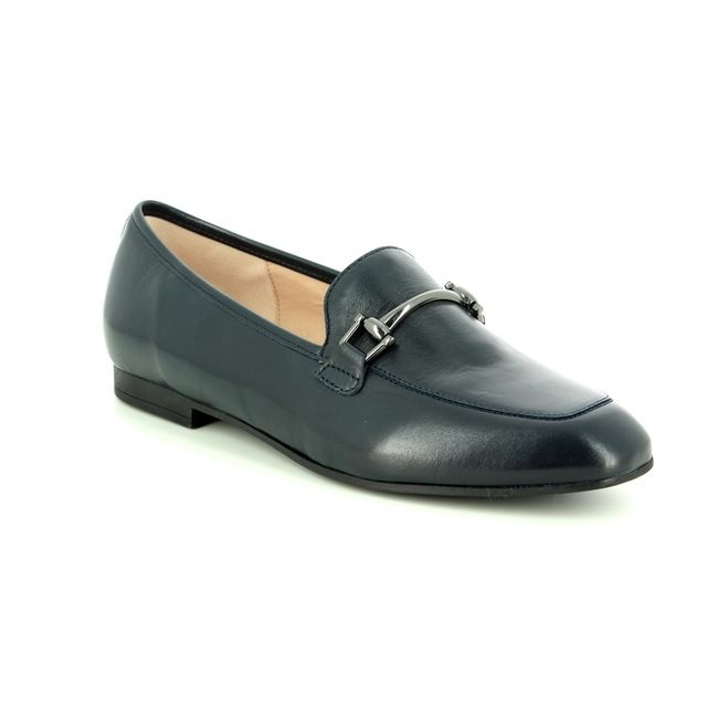 Gabor Loafers - Navy Leather - 24.210.26 SERIN