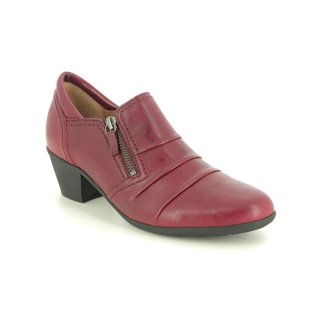 Gabor Shoe-boots - Wine leather - 54.491.55 SHERBERT 05