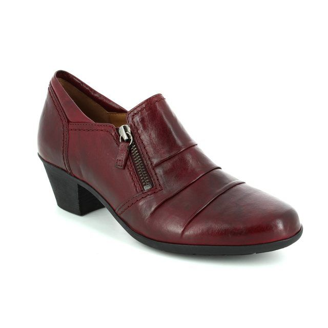 Gabor Shoe-boots - Dark Red - 74.491.55 SHERBERT