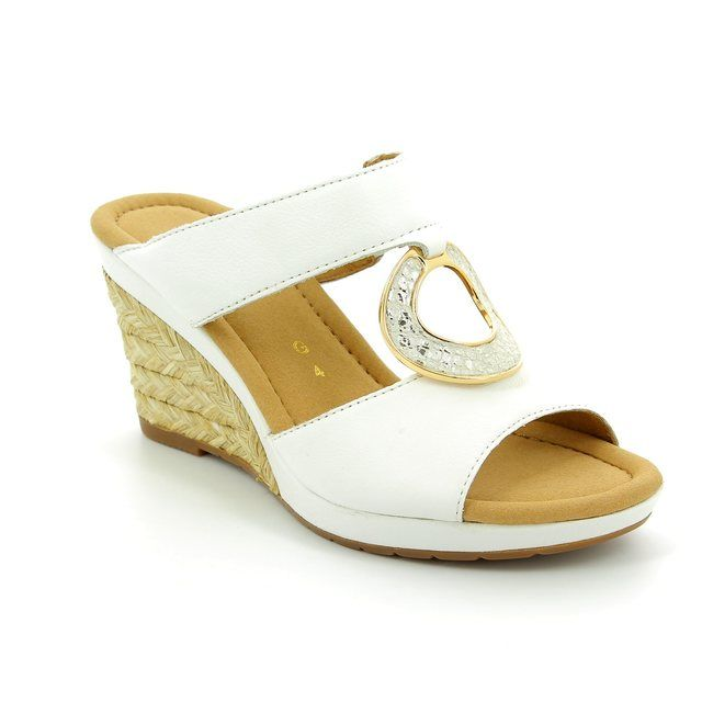 Gabor Sizzle 62.825.50 White sandals