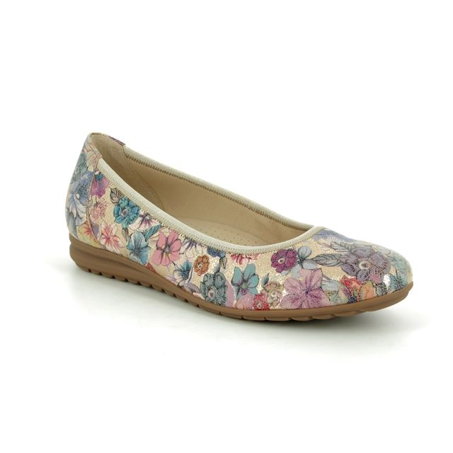 Gabor Pumps - Beige - floral - 22.620.13 SPLASH