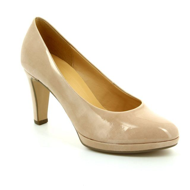 Gabor High-heeled Shoes - Beige patent - 61.270.72 SPLENDID