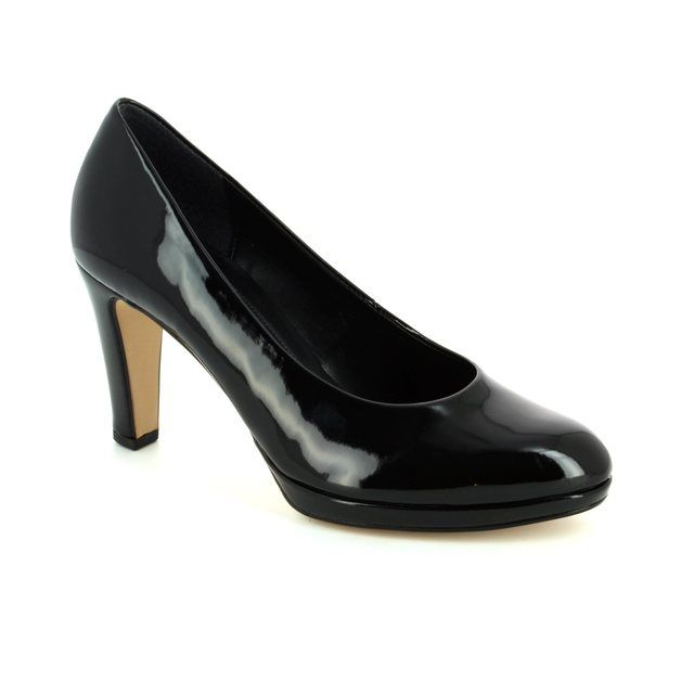 Gabor Splendid 61.270.77 Black patent high-heeled shoes