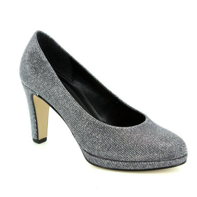 Gabor High-heeled Shoes - Silver Glitz - 71.270.69 SPLENDID