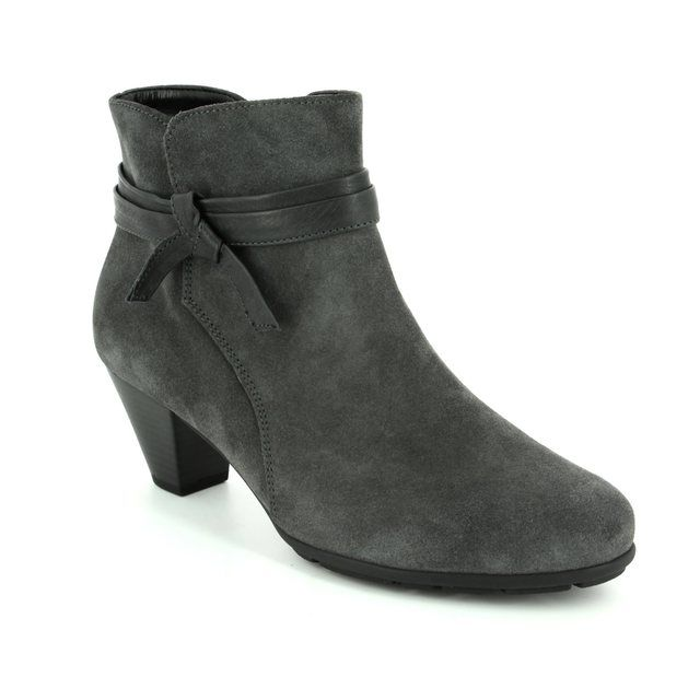 Gabor Tiffey 75.642.39 Grey suede ankle boots