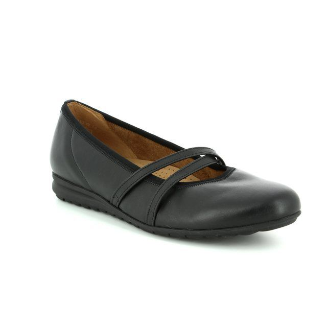 Gabor Mary Jane Shoes - Black - 82.626.57 TRINITY