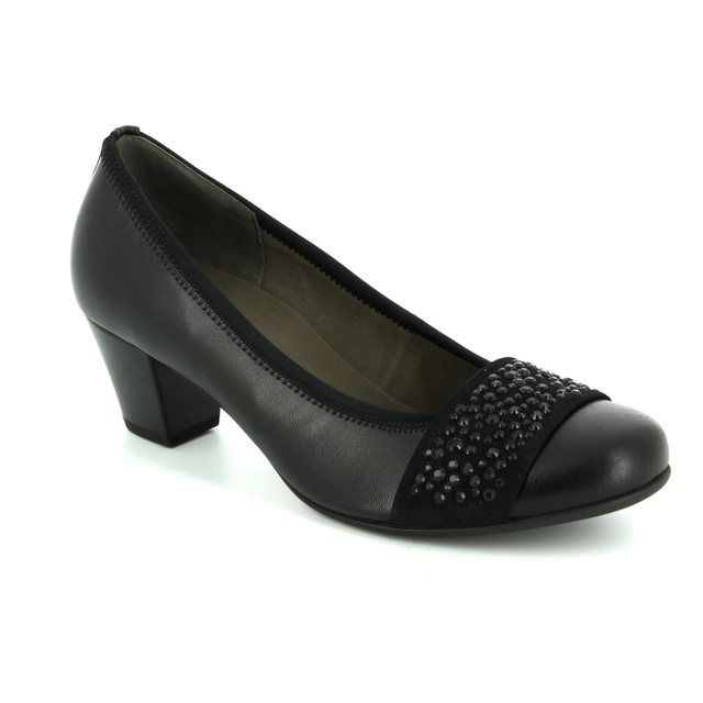 Gabor Heeled Shoes - Black - 75.482.27 WALLACE