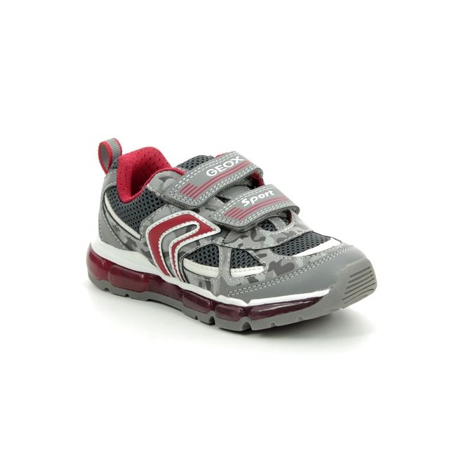 Geox Trainers - Grey - J9244C/C0051 ANDROID C JNR