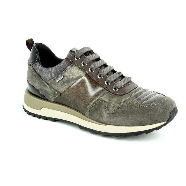 Geox Aneko B Tex D643FA-C6457 Metallic trainers