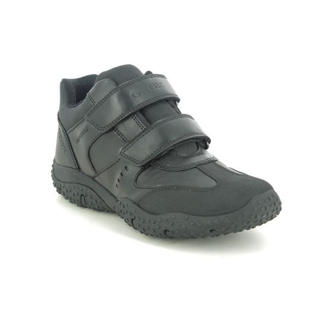 Geox Boots - Black leather - J0442A/C9999 BALTIC BOY TEX