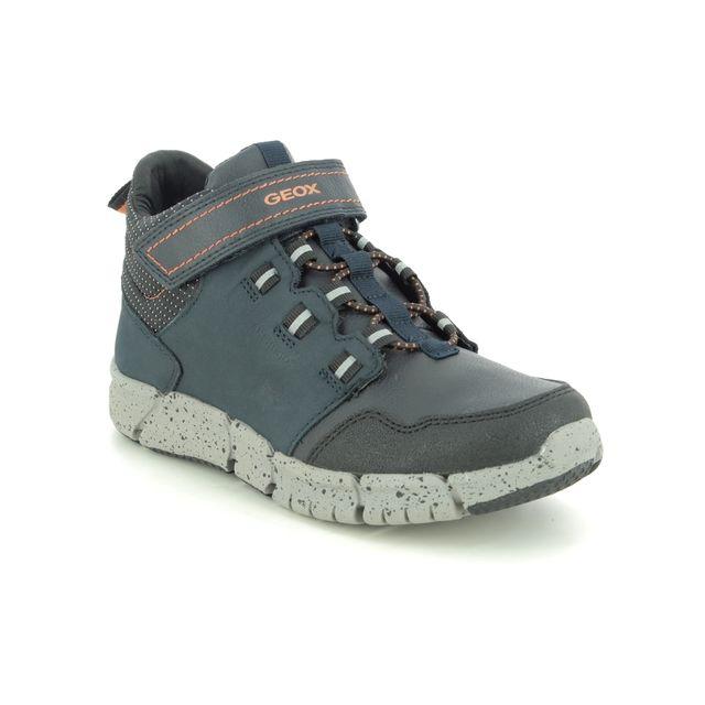 Geox Boots - Navy nubuck - J949XA/C0820 FLEXYPER B TEX