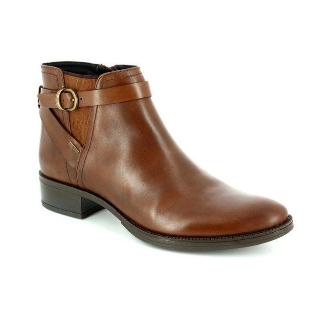 Geox Ankle Boots - Tan - D746SD/C0013 MENDI D TEX