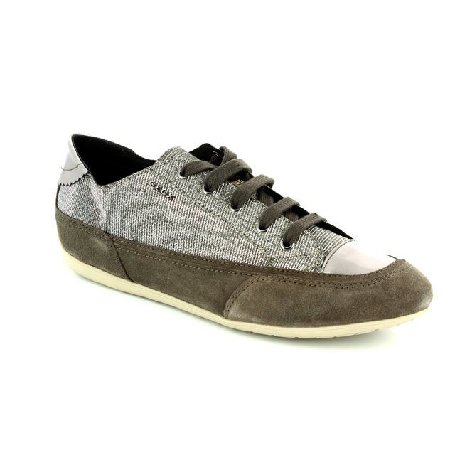 Geox New Moena D D5260D-C1G6J Taupe trainers