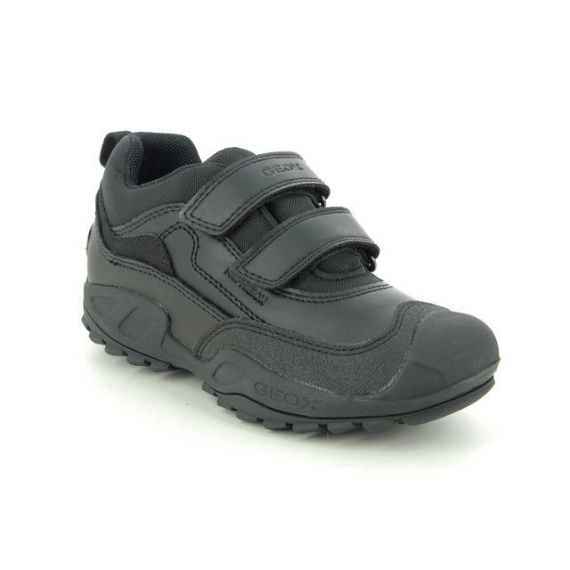 Geox Everyday Shoes - Black - J841WB/C9999 NEW SAVAGE TEX