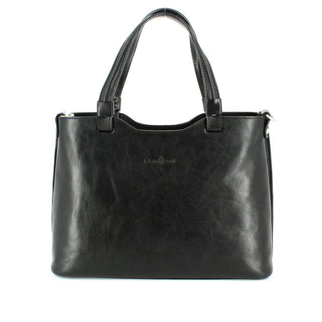Gianni Conti Handbag - Black - 9403025/10 HOBO ANTIQUED