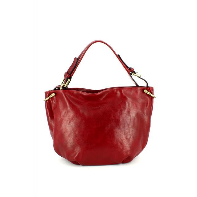 Gianni Conti Handbag - Red - 9403698/50 HOBO FASHION