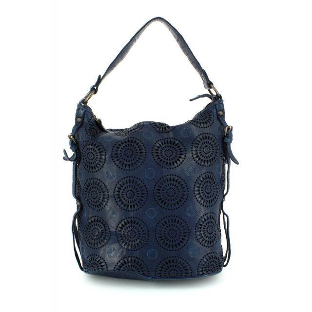 Gianni Conti Handbag - Blue - 4303354/43 SLOUCHY
