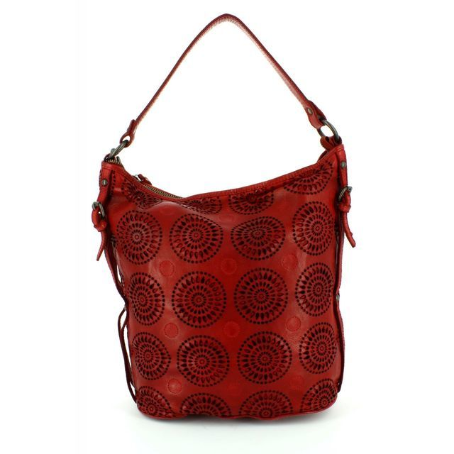 Gianni Conti Handbag - Red - 4303354/50 SLOUCHY