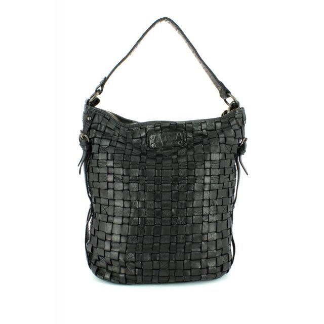 Gianni Conti Slouchy Interwe 4503354-10 Black handbag