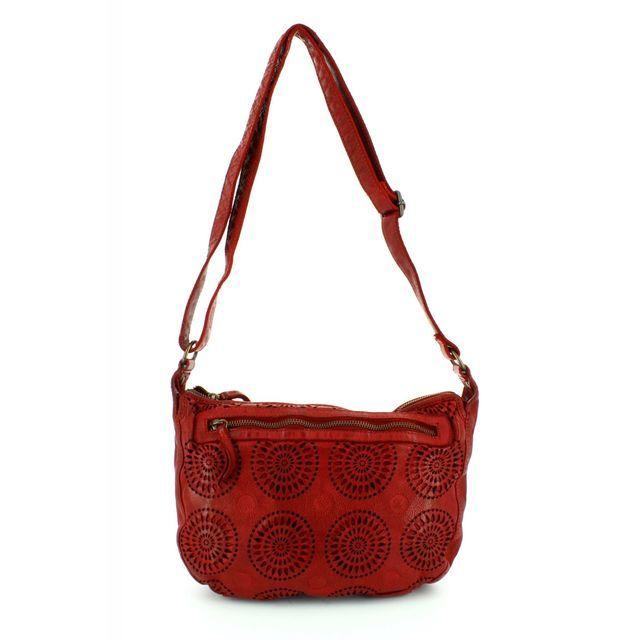Gianni Conti Handbag - Red - 4303353/50 SML SHOULD