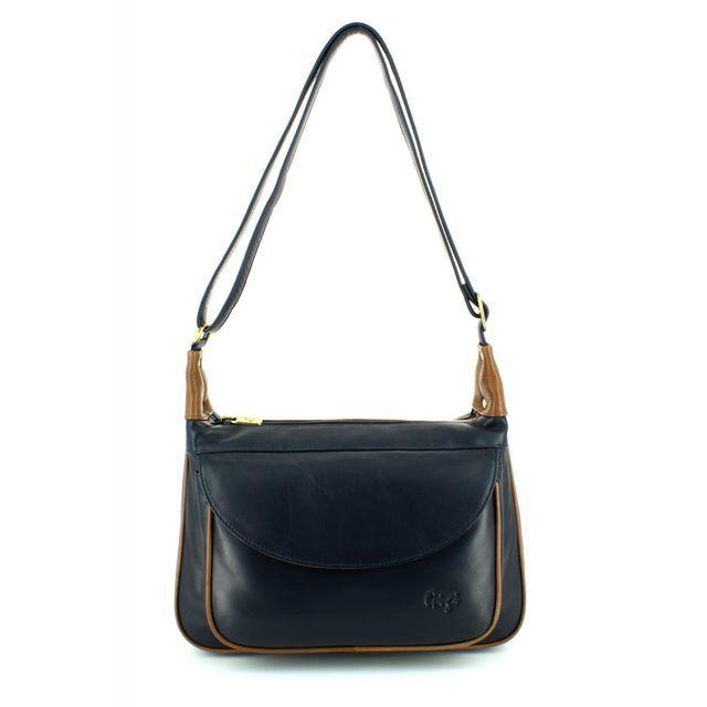 Gigi Bags Othtt22 17 2217-71 Navy/tan handbag