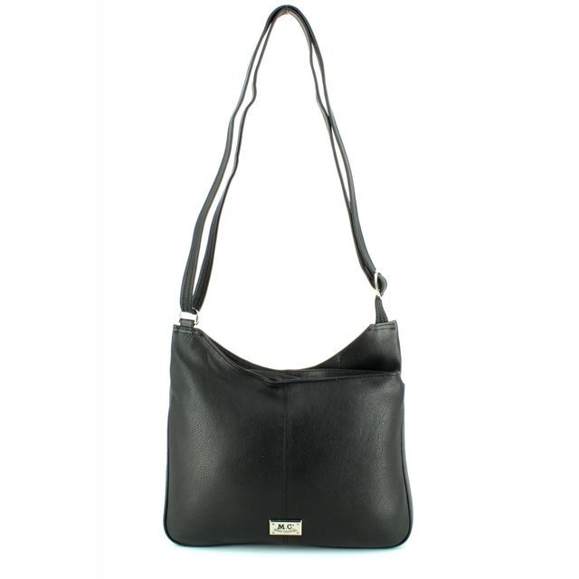 Gigi Handbag - Black - 4171/03 P4171 LGE SHOUL