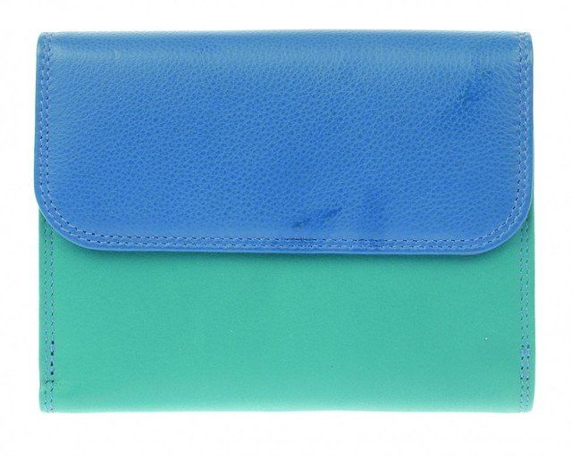 Golunski C-2901  Tabwa 2901-70 Blue multi purse