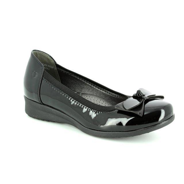 Heavenly Feet Pumps - Black patent - 7225/40 ANNABEL