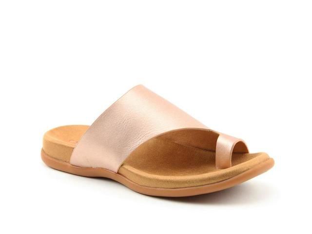 Heavenly Feet Beverley 0115-60 Rose Toe Post Sandals