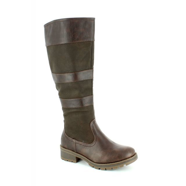 Heavenly Feet Knee-high Boots - Chocolate brown - 7222/22 BURLEY 4