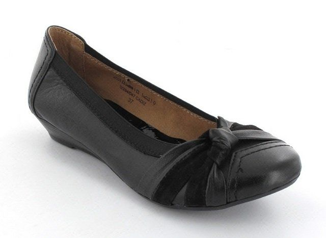 Heavenly Feet Cadiz Wide Fi 2002-30 Black pumps