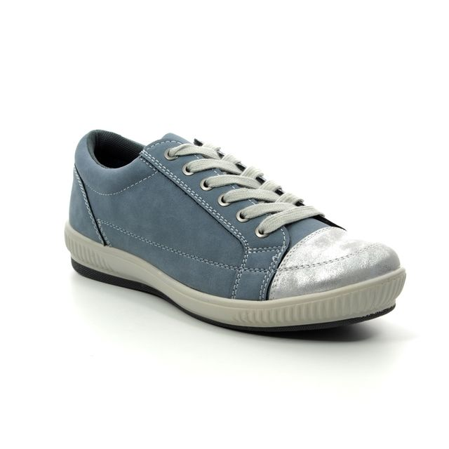 Heavenly Feet Cinnamon 9108-72 Denim lacing shoes