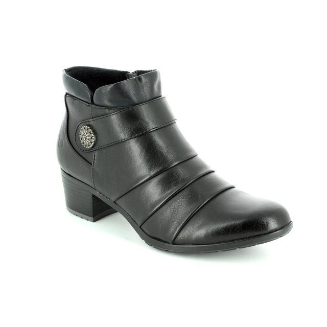 Heavenly Feet Ankle Boots - Black - 7205/30 CLAIRE