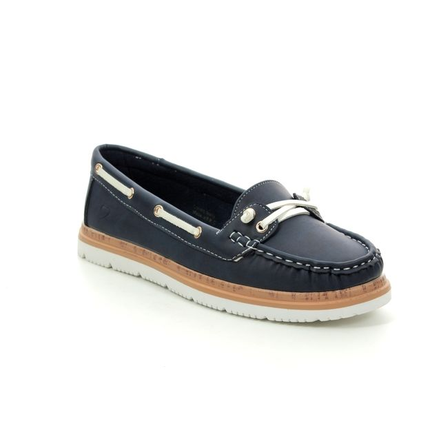 Heavenly Feet Collett 9118-70 Navy loafers